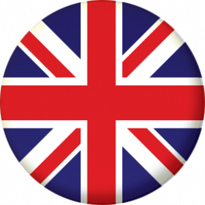 Great Britain Union Jack Country Flag 25mm Fridge Magnet